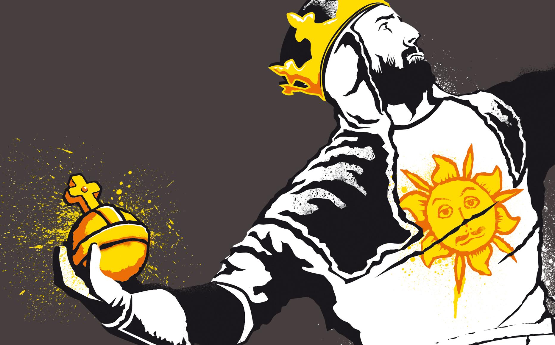 Kgullholmen Illustrations Banksy Python 1 2 5